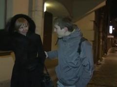 If u want to pick up a hawt chick for casual sex u just walk up to her on the street and tell her u have a great dong and u can fuck her like nobody ever did previous to. That's exactly what this guy did and the risk proved worth taking when this beautiful teeny dared him to prove it. First that babe let him engulf her nipples then gave him a jaw-dropping oral and lastly took his schlong doggystyle begging for the guy to fuck her harder.